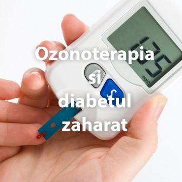 Ozonoterapia si diabetul zaharat
