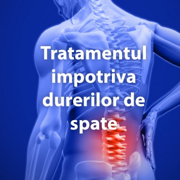 Tratamentul impotriva durerilor de spate