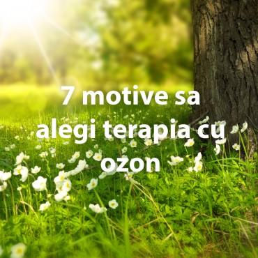 7 motive sa alegi terapia cu ozon