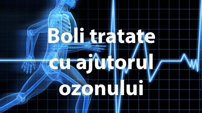 Boli tratate cu ajutorul ozonului