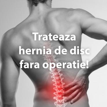 Trateaza hernia de disc fara operatie!