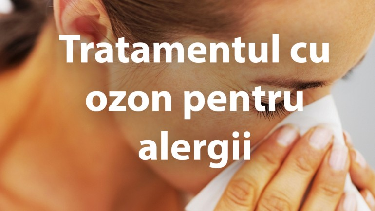 Tratamentul cu ozon pentru alergii