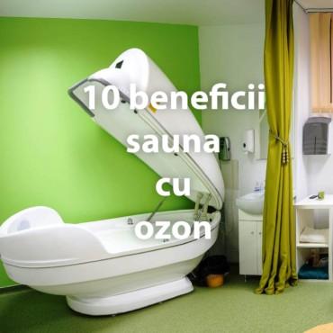 10 beneficii sauna cu ozon
