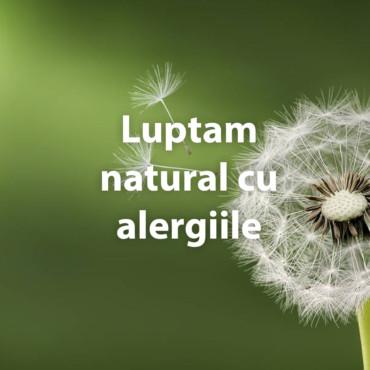 Luptam natural cu alergiile!