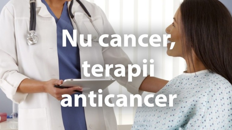 Nu cancer, terapii anticancer