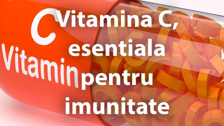 Vitamina C, esentiala pentru imunitate