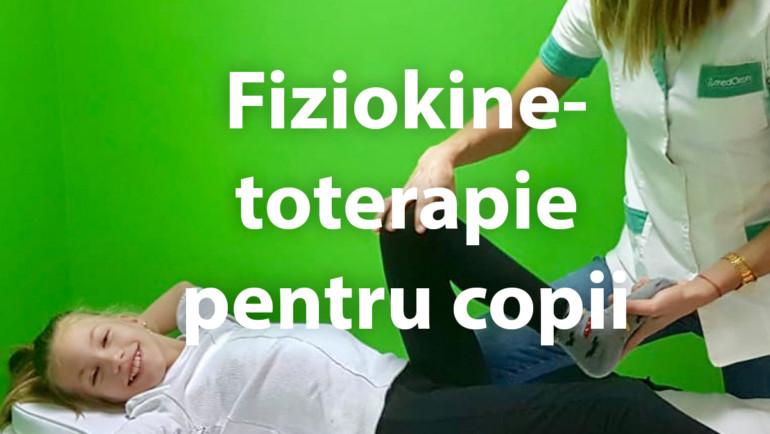 Fiziokinetoterapie pentru copii