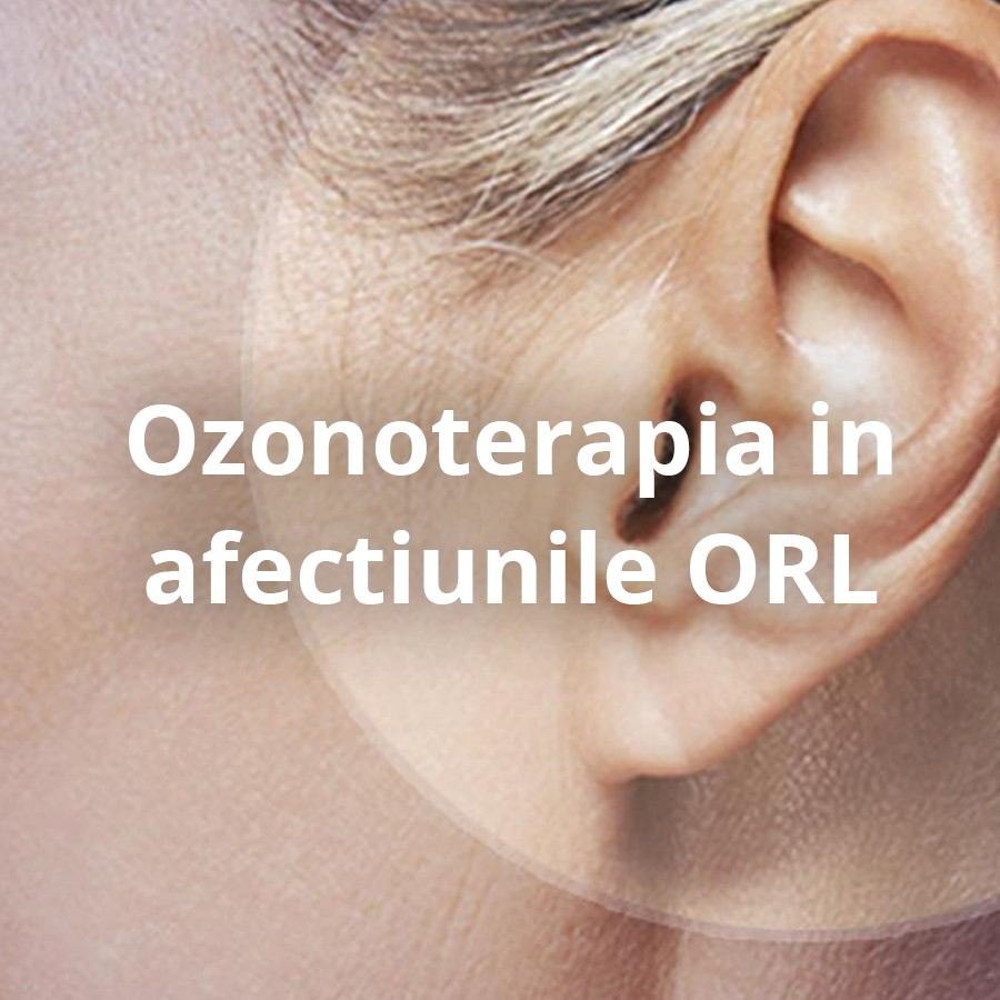 Ozonoterapia in afectiunile ORL
